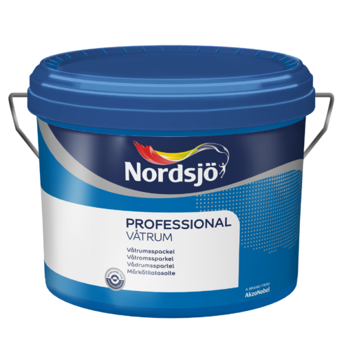Nordsjö Professional Våtrumsspackel